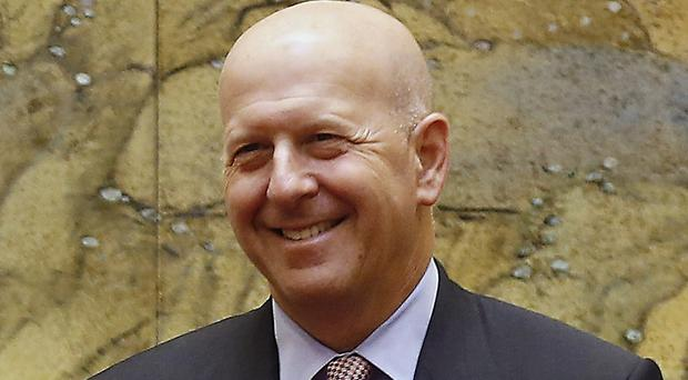 David Solomon will take over as chief executive (Andy Wong, Pool/AP))