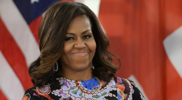 Former US first lady Michelle Obama (Hunter Foundation/PA)