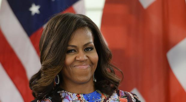 Former US first lady Michelle Obama, who attended a fundraising dinner in Edinburgh on Tuesday (Stefan Rosseau/PA)