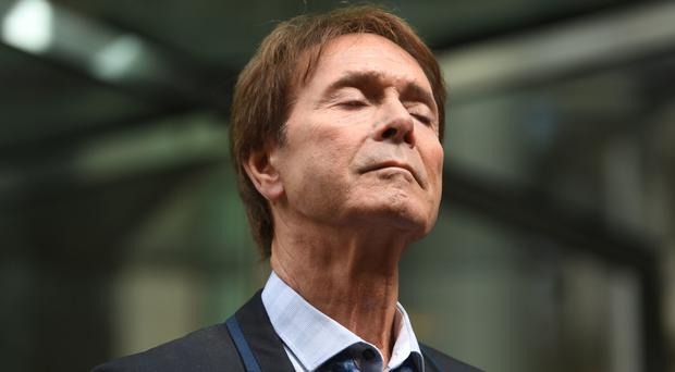 Sir Cliff Richard after winning his High Court privacy battle against the BBC (Victoria Jones/PA)