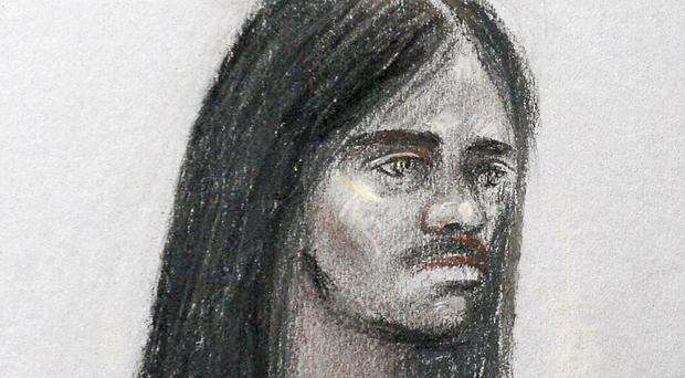 Naa'imur Zakariyah Rahman was found guilty over the plot (Elizabeth Cook/PA)