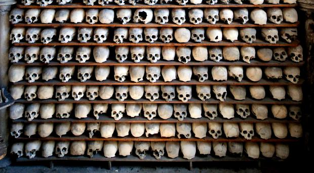 The skulls were stolen from a church crypt (Kent Police/PA)