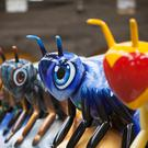 More than 100 giant worker bee sculptures will form the Bee In The City trail in Manchester (Handout/PA)