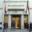 Burberry announced last week that its sales grew by 3% in the 13 weeks to June 30 (Jonathan Brady/PA)