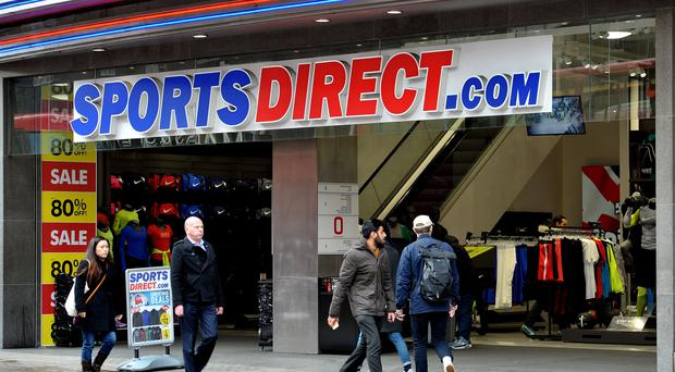 Sports Direct took and £85m hit from its investment in Debenhams (Nick Ansell/PA)