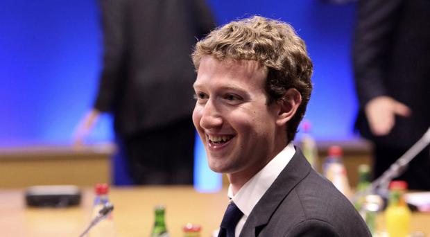 Mark Zuckerberg said Facebook would remove content and pages that threatened violence or harm against others (Chris Ratcliffe/PA)
