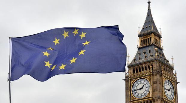 Theresa May has ordered officials to step up planning for a no deal' Brexit as part of the Chequers plan (Victoria Jones/PA)