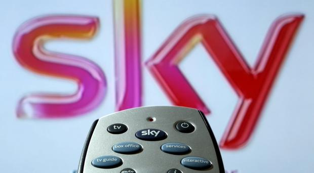Sky is at the centre of a takeover tussle (Chris Radburn/PA)