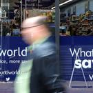 A Poundworld store in Canterbury, Kent (PA)