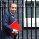 Matt Hancock will vow to drive culture change within the NHS and social care sector (Kirsty O'Connor/ PA)