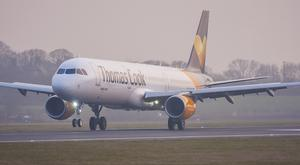 A flight from Belfast to Turkey was grounded in Germany after a passenger became rowdy. (Thomas Cook/PA)