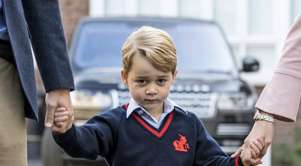 Prince George will be five (Richard Pohle/The Times/PA)