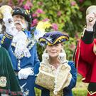 Participants during the Helmsley Invitational National Town Criers Competition (Danny Lawson/PA)