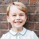 The Duke and Duchess of Cambridge have issued a new photograph of Prince George (Matt Porteous/PA)