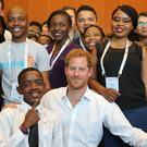 The Duke of Sussex at the Aids 2018 summit (Gareth Fuller/PA)