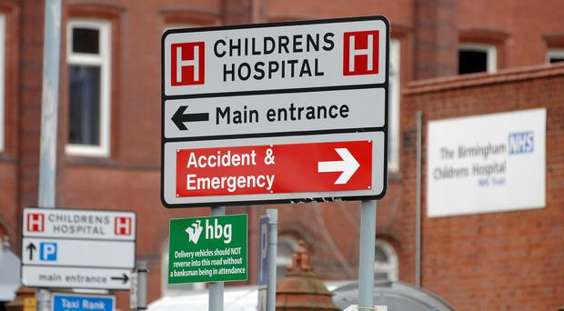 Children are struggling to sleep in noisy hospital wards, a report has warned (David Jones/PA)