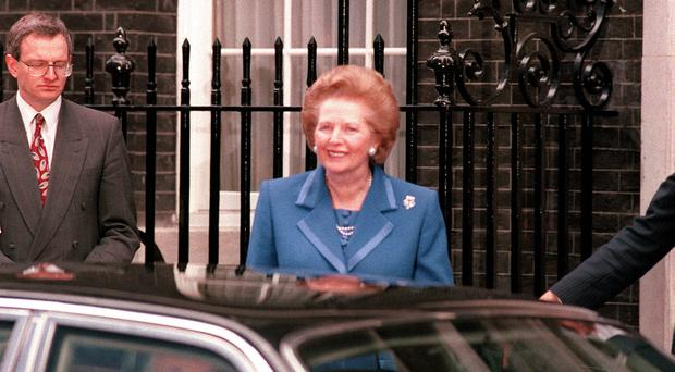 Margaret Thatcher used to doze off in the back of her official car (PA)