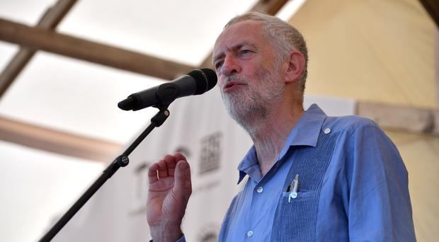 Jeremy Corbyn insisted Labour does not tolerate anti-Semitism (Ben Birchall/PA)