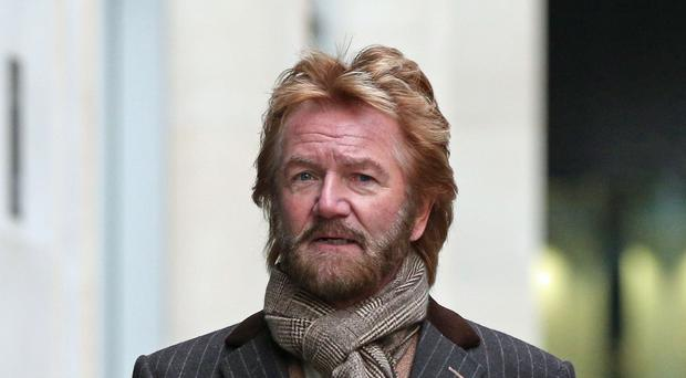 Noel Edmonds commissioned a poll over the impact that the HBOS fraud case has had on Lloyds' reputation (PA)