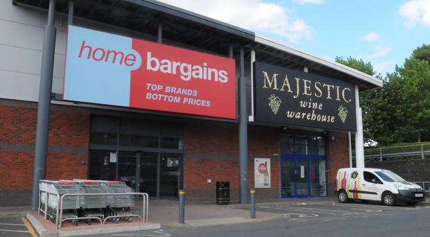 The child was injured at a Home Bargains store in Worcester (PA)