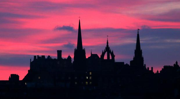 Edinburgh has been named the easiest city in the UK to travel in for the third year running. (Jane Barlow/PA)