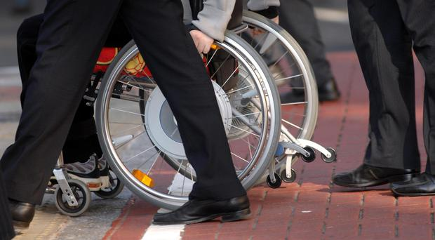 Millions of people are being left without wheelchairs (David Jones/PA)
