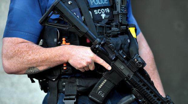 Firearms officers were called to Lascelles Close (Nick Ansell/PA)