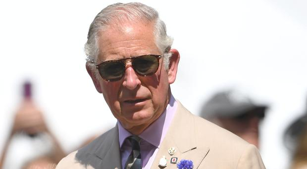 A six-page statement from the Prince of Wales was read to the inquiry (Joe Giddens/PA)