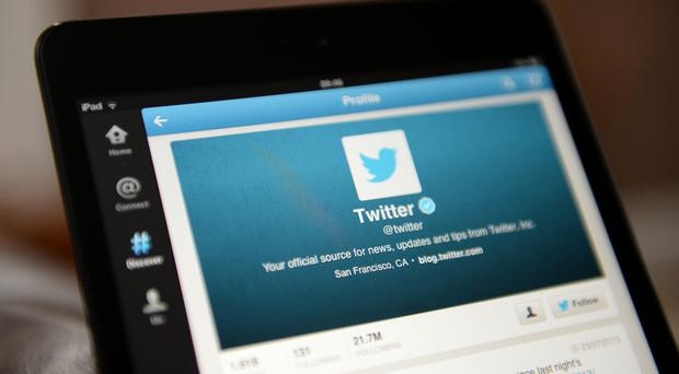 Twitter had 335 million monthly active users between April and June (Andrew Matthews/PA)