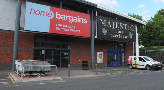 The Home Bargains store on the Shrub Hill Retail Park in Tallow Hill, Worcester (Matthew Cooper/PA)