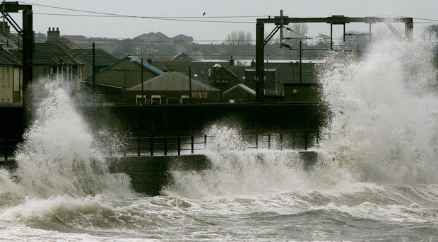Yacht sailors have been warned to be vigilant as high winds and heavy rain hits the UK (Danny Lawson/PA)