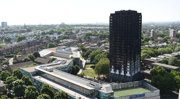A Grenfell firefighter said he struggled to keep track of who had been rescued (David Mirzoeff/PA)