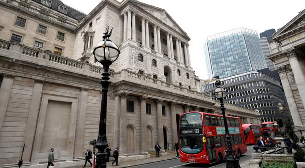 """The Bank of England should raise interest rates on Thursday but should """"stand ready"""" to reverse the hike if Brexit talks do not go as planned, according to an influential think-tank. (Stefan Rousseau/PA)"""