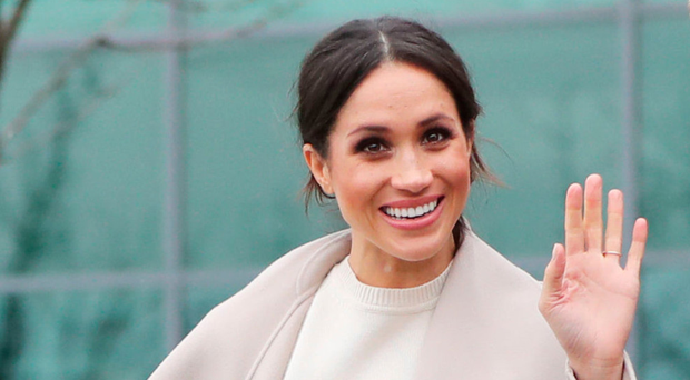 The Duchess of Sussex in Belfast