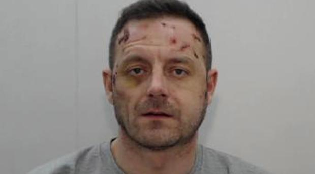 Michael Marler who has been found guilty of the murder of girlfriend Danielle Richardson (Greater Manchester Police/PA)