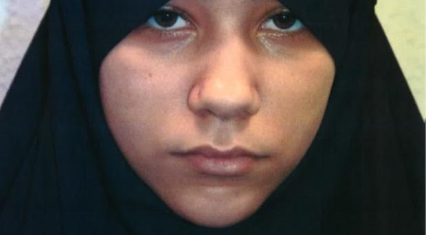 Undated handout photo issued by the Metropolitan Police of Safaa Boular as she has been found guilty at the Old Bailey of plotting a terror attack on London with BritainÕs first all-woman terror cell. Boular is the youngest female to be charged with planning an IS attack in the UK.