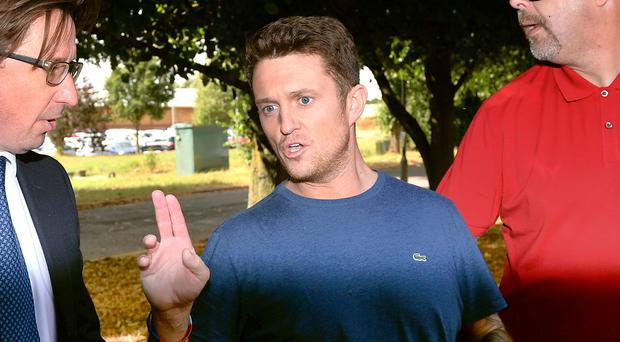 Former English Defence League (EDL) leader Tommy Robinson compared his spell in prison to Guantanamo Bay during an appearance on Fox News (Joe Giddens/PA)