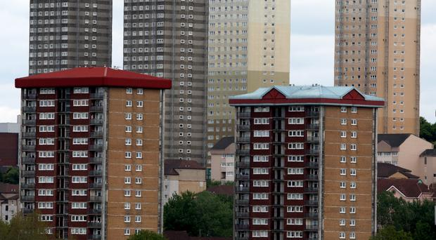 Servo has said it will change the locks on accommodation for about 300 asylum seekers in Glasgow (Andrew Milligan/PA)