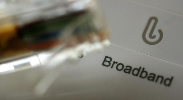 Under the tougher rules, home broadband providers must now ensure that at least 50% of their customers can achieve advertised speeds at peak time (PA)