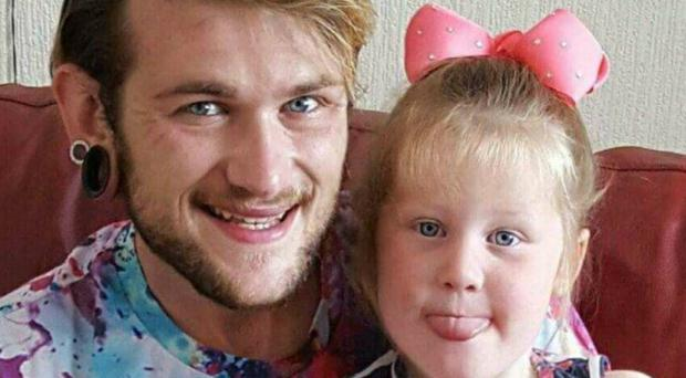 Robert Bambridge, who died in Sunday morning's crash, and his daughter (South Wales Police/PA)