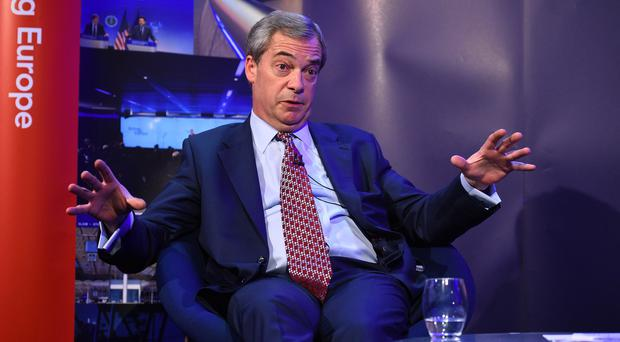 "Former Ukip leader Nigel Farage said the rumours were ""rubbish"" (Kirsty O'Connor/PA)"