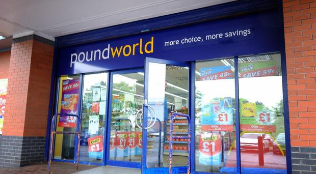 Poundworld fell into administration in June (PA)