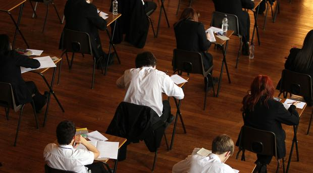 The pass rates for Highers is largely unchanged on last year (David Davies/PA)