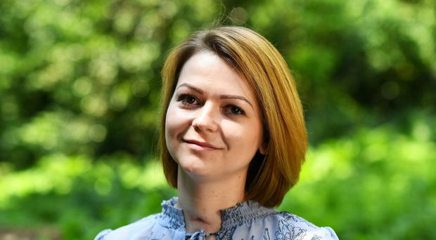 Yulia Skripal was left seriously ill after coming into contact with the nerve agent Novichok (Dylan Martinez/PA)