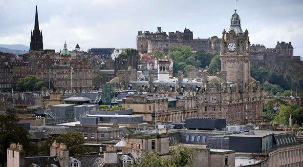 The Ediburgh International Book Festival is part of the Scottish capital's annual festival season (Jane Barlow/PA)