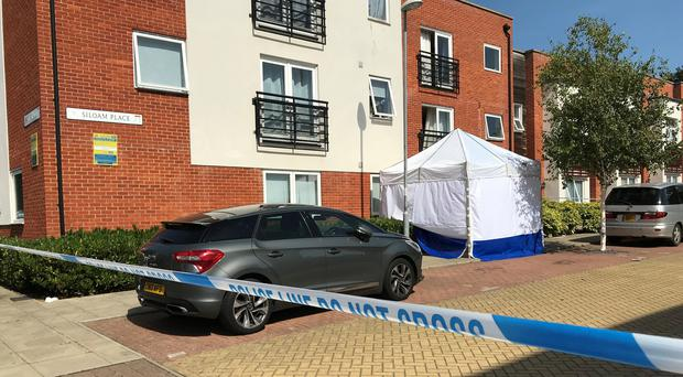 A married couple found dead in a suspected murder-suicide in Siloam Place, Ipswich, have been named by police as Katherine and Thomas Kemp. (Sam Russell/ PA)