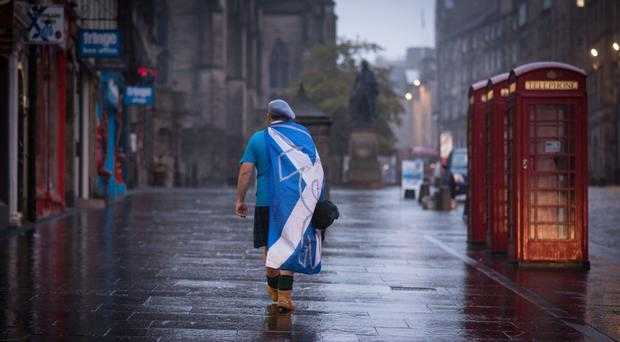 Scotland voted to stay part of the UK in September 2014 (PA)