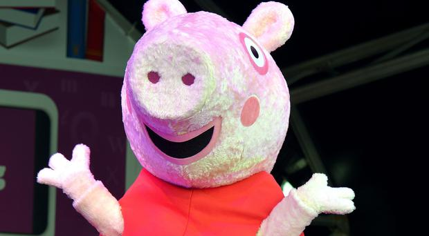 The alleged incident happened after a Peppa Pig show (PA)