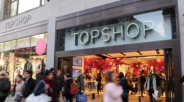 Sir Philip Green's Topshop has had a setback in China (Tim Goode/PA)