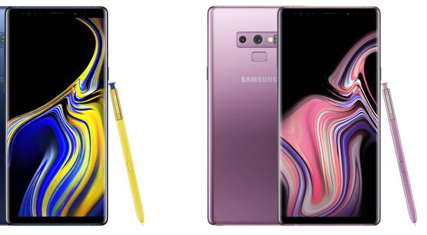 The Galaxy Note 9 (Samsung)